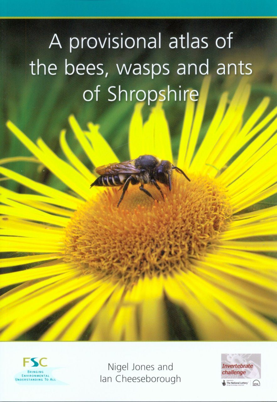 A Provisional Atlas of the Bees, Wasps and Ants of Shropshire