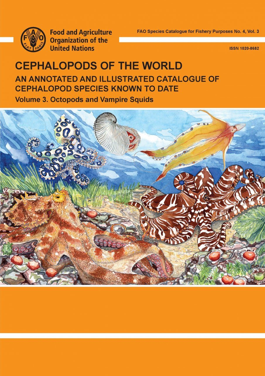 Cephalopods of the World, Volume 3: Octopods and Vampire Squids