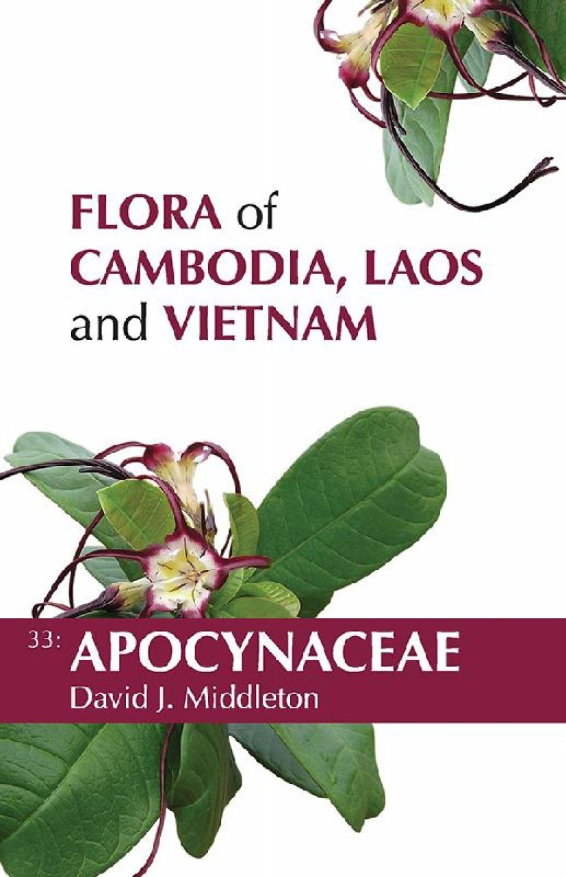 Flora of Cambodia, Laos and Vietnam, Volume 33