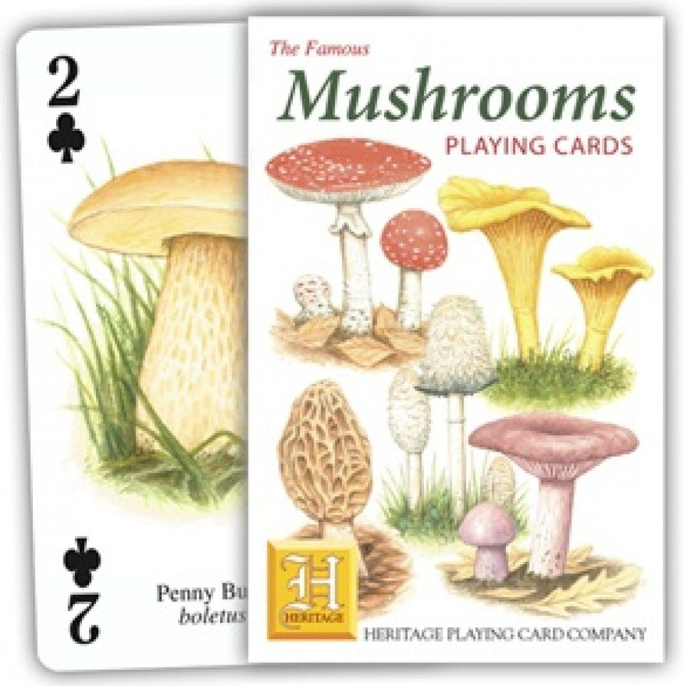 Mushrooms Playing Cards