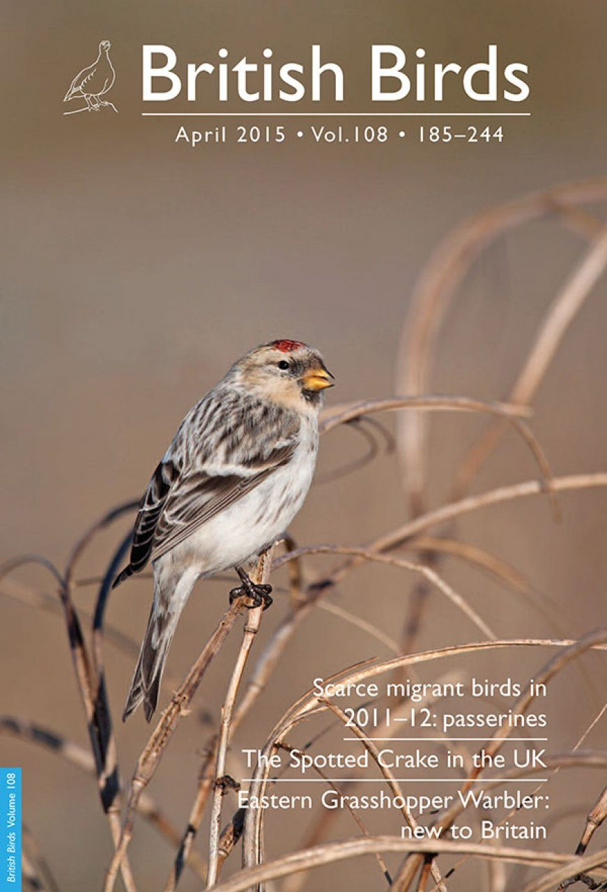 British Birds Report on Scarce Migrant Birds in Britain in 2011–2012: Passerines