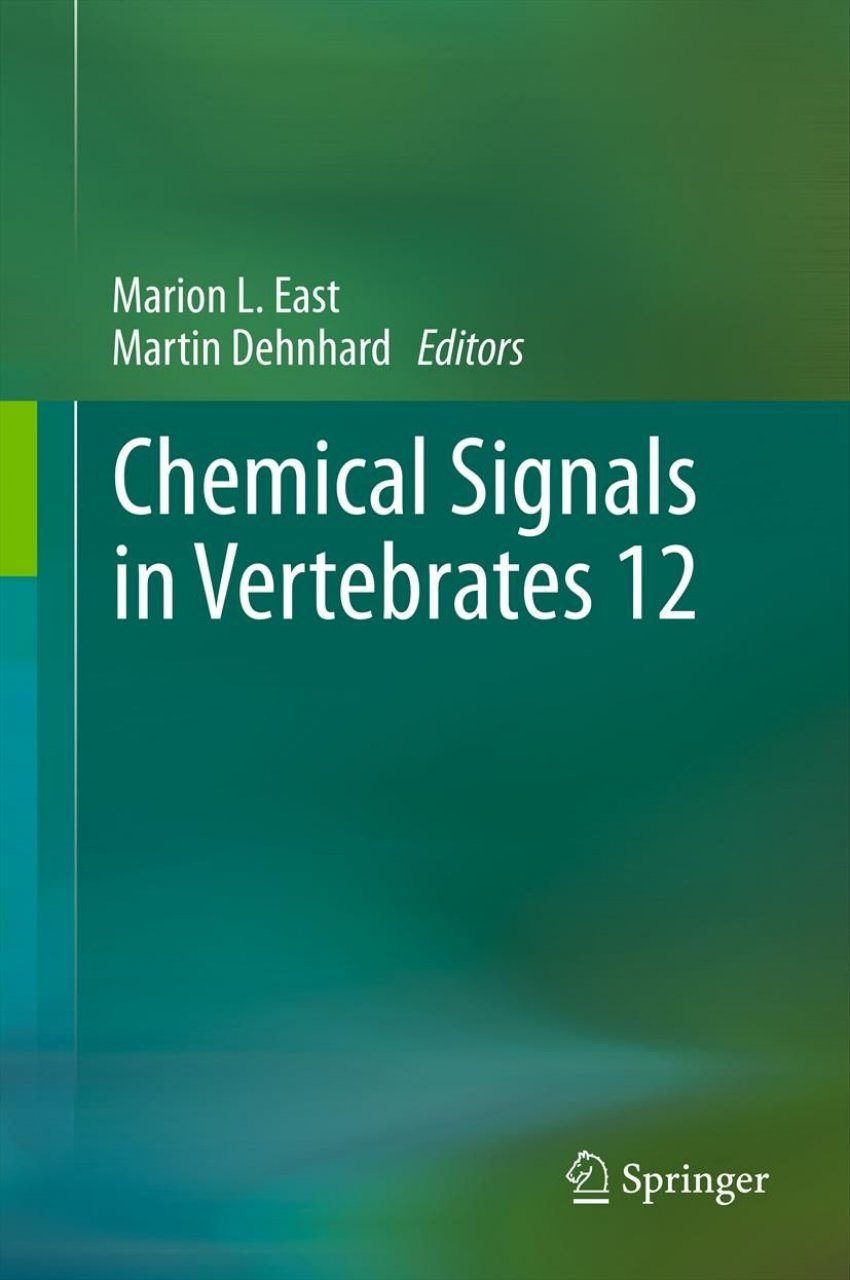 Chemical Signals in Vertebrates, Volume 12