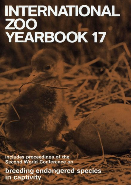 International Zoo Yearbook 17: Breeding Endangered Species in Captivity