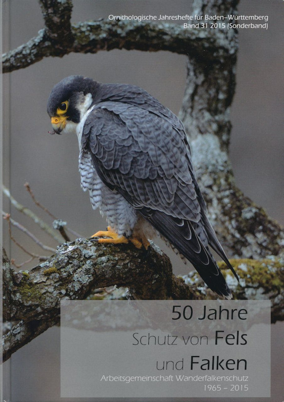 50 Jahre Schutz von Fels und Falken 1965–2015 [50 Years of Protection of Cliffs and Hawks 1965-2015]