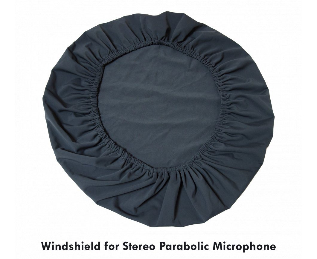 Windshield for the Hi-Sound Parabolic Microphone