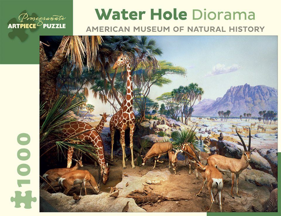 Water Hole 1,000-piece Jigsaw Puzzle