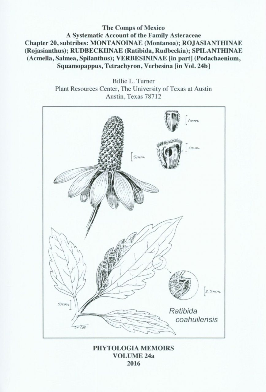 The Comps of Mexico: A Systematic Account of the Family Asteraceae, Chapter 20