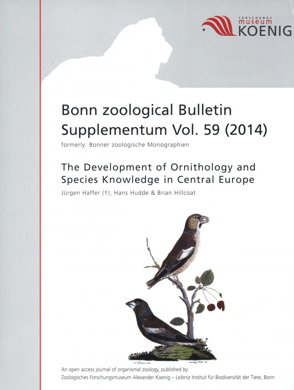 The Development of Ornithology and Species Knowledge in Central Europe