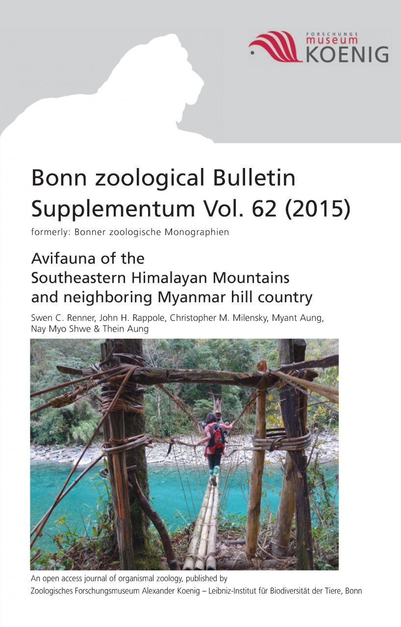 Avifauna of the Southeastern Himalayan Mountains and Neighboring Myanmar Hill Country