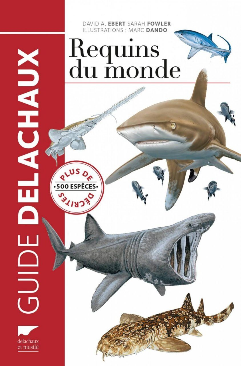 Requins du Monde: Plus de 500 Espèces Décrites [An Illustrated Pocket Guide to the Sharks of the World: The Concise Guide to More Than 500 Shark Species]