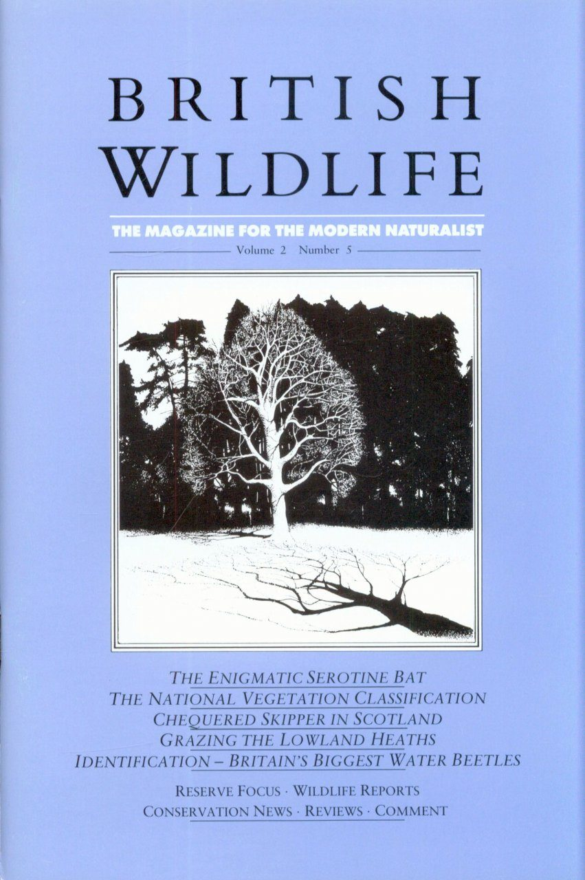 British Wildlife 02.5 June 1991