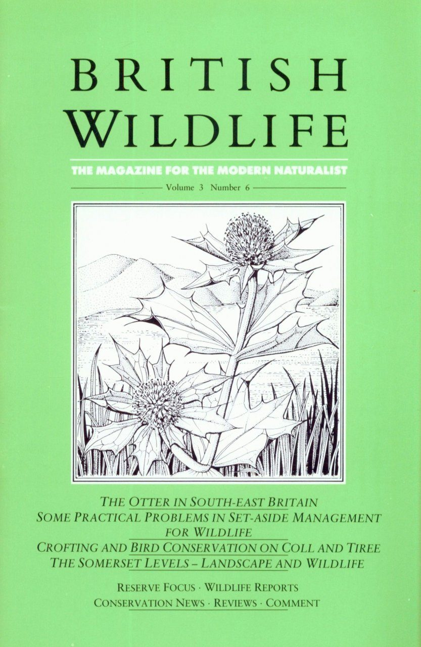 British Wildlife 03.6 August 1992