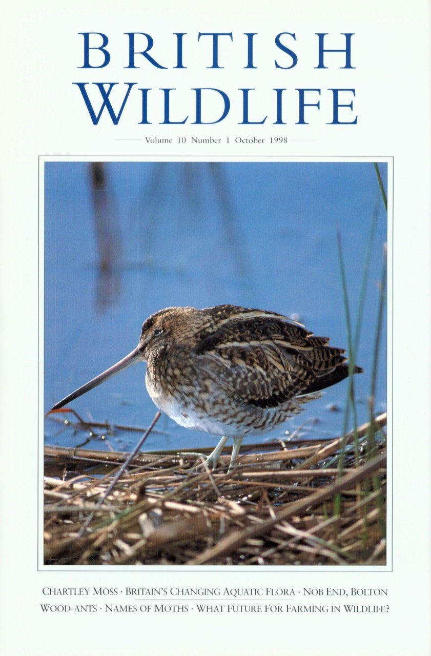 British Wildlife 10.1 October 1998
