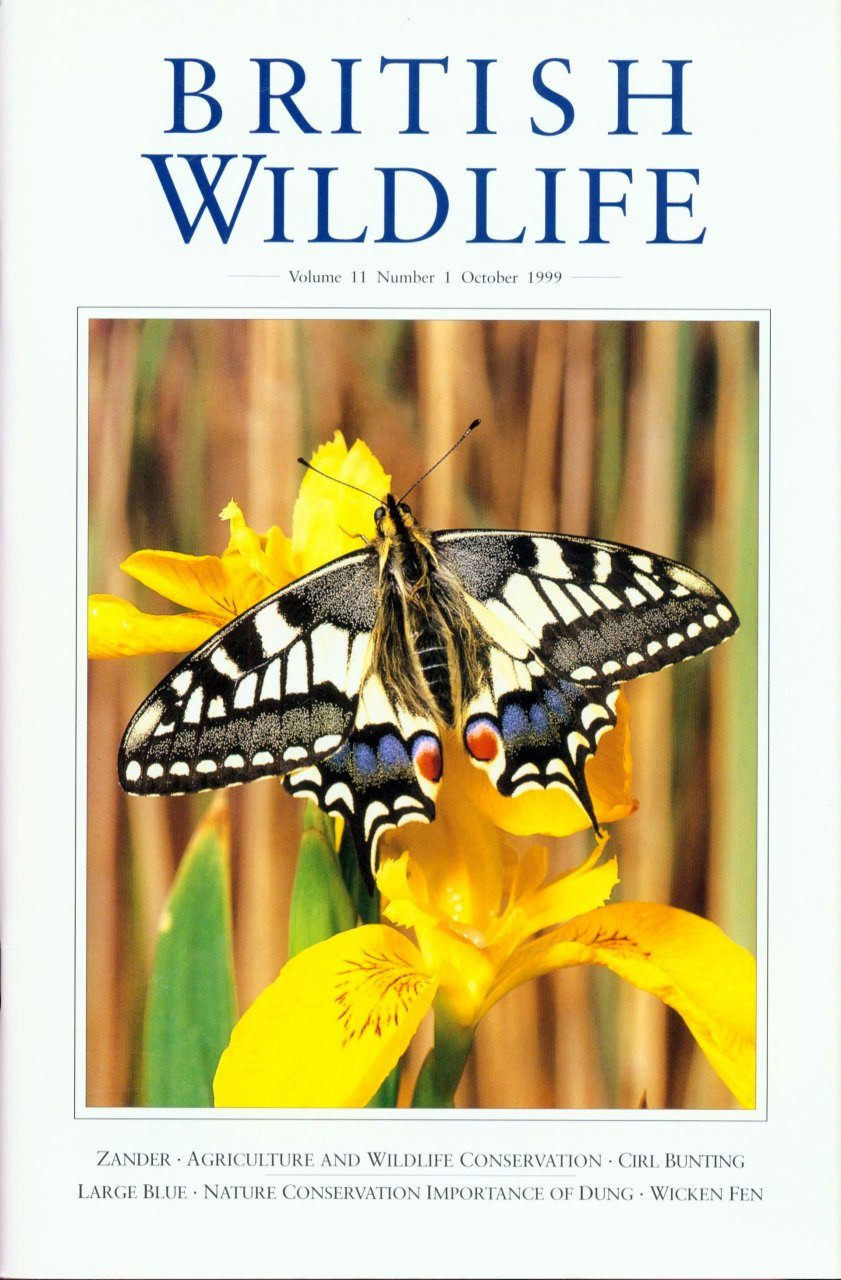 British Wildlife 11.1 October 1999