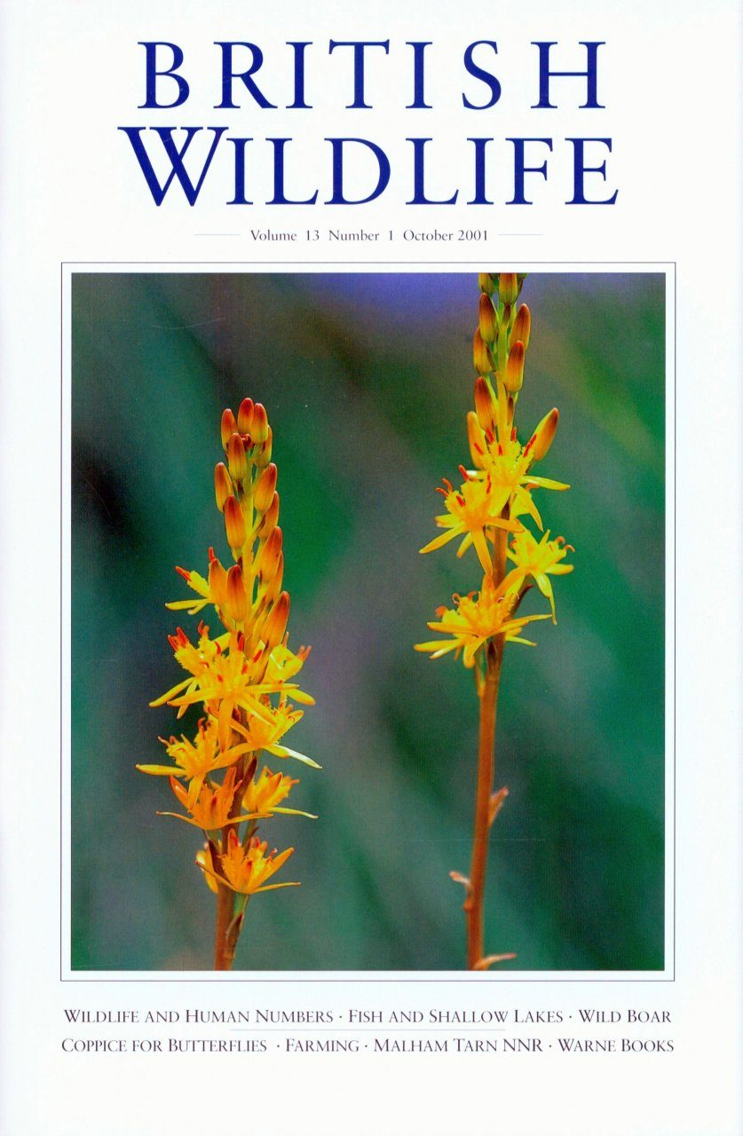 British Wildlife 13.1 October 2001