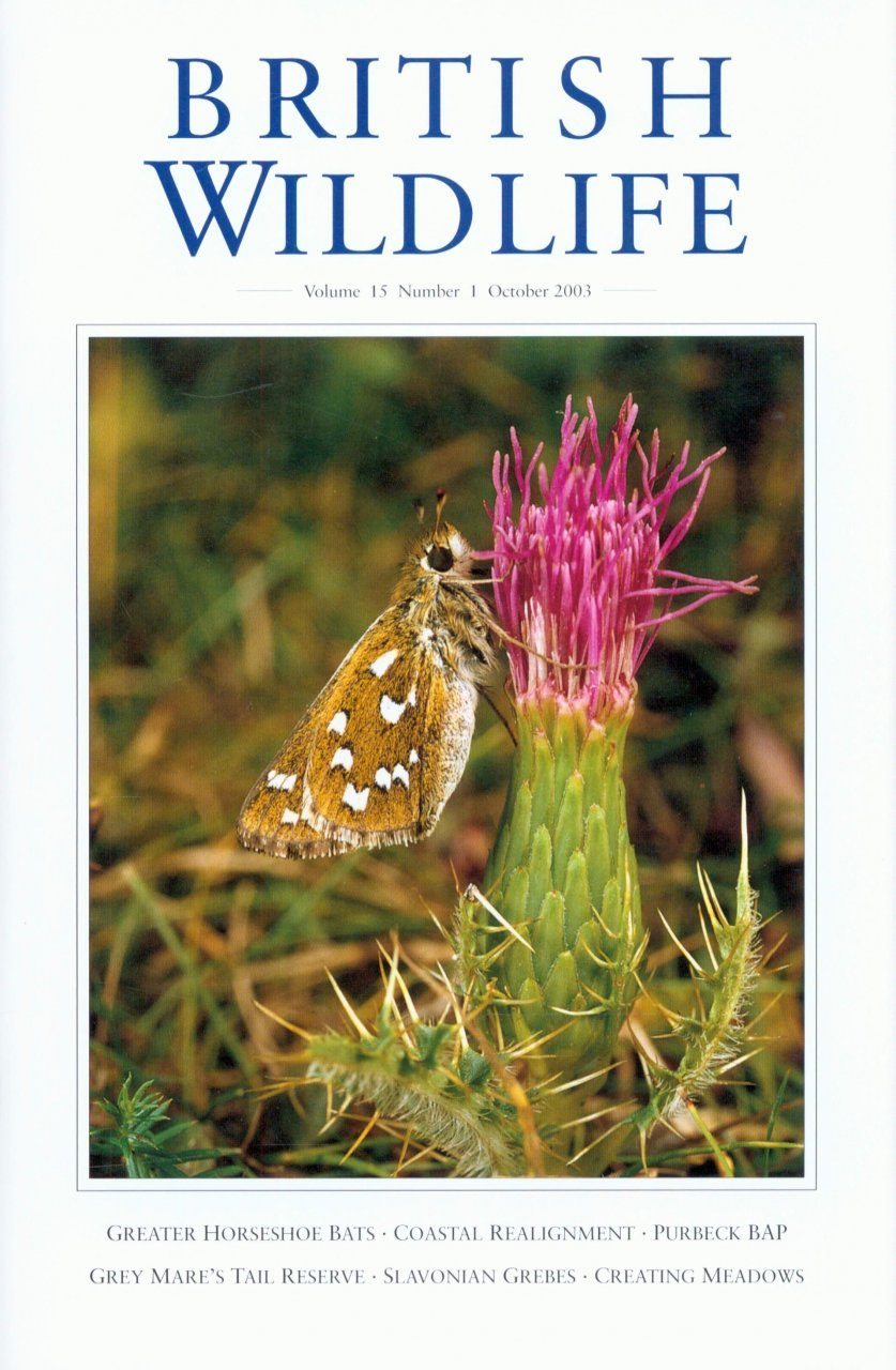 British Wildlife 15.1 October 2003