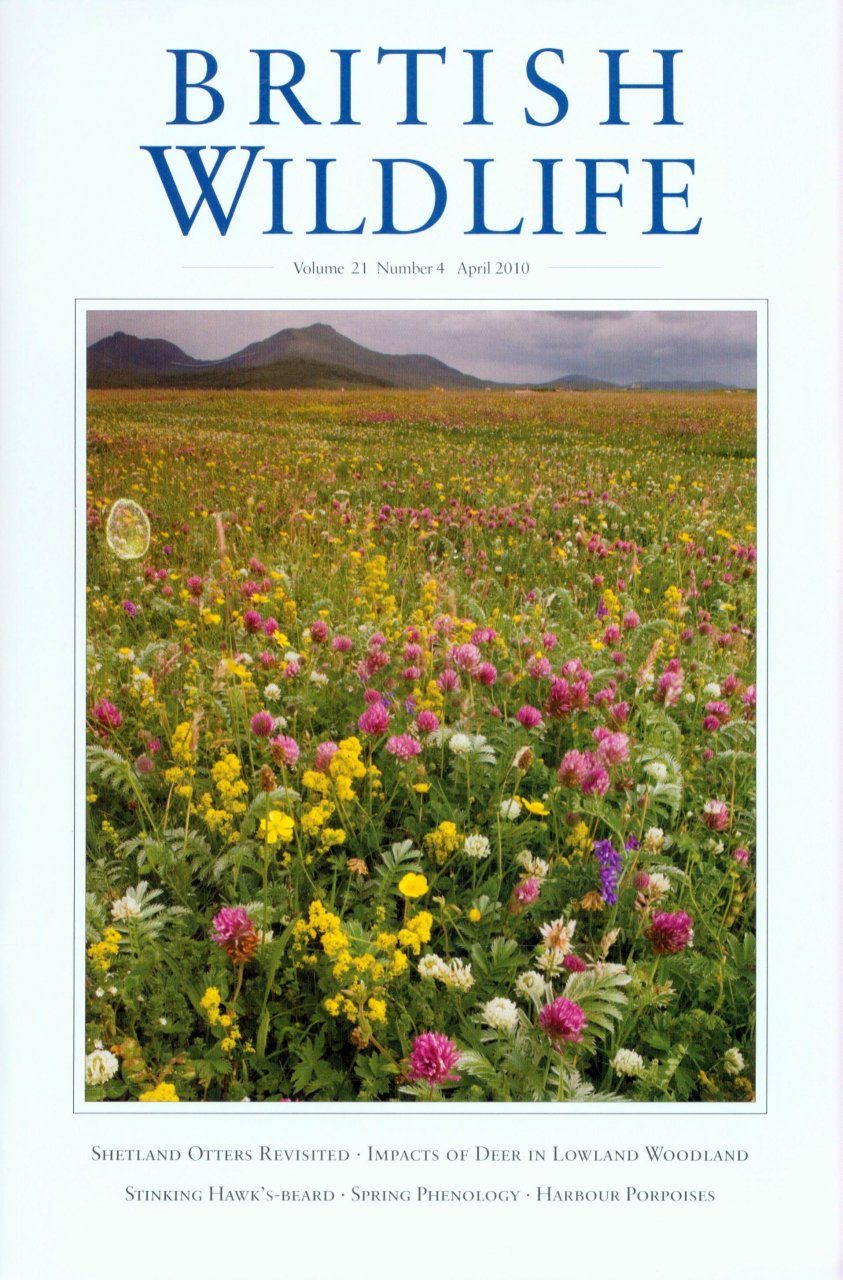British Wildlife 21.4 April 2010