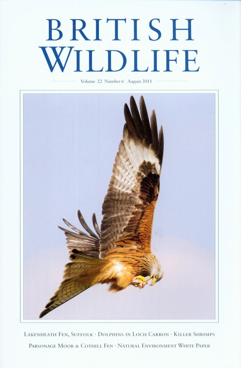 British Wildlife 22.6 August 2011