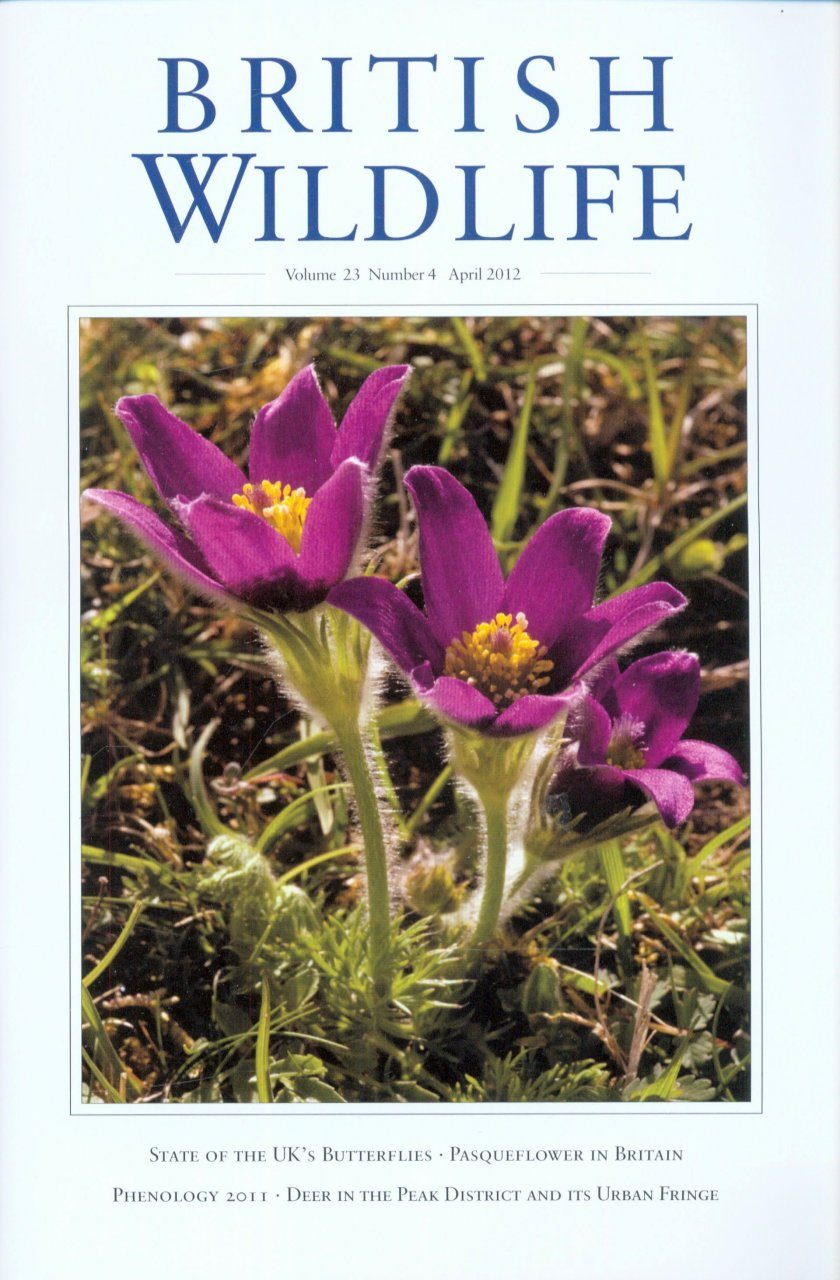 British Wildlife 23.4 April 2012