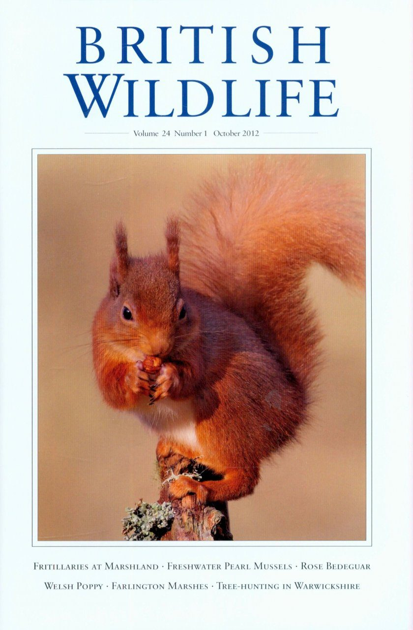 British Wildlife 24.1 October 2012