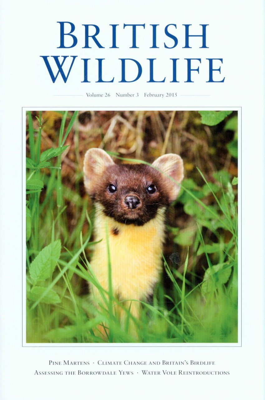 British Wildlife 26.3 February 2015