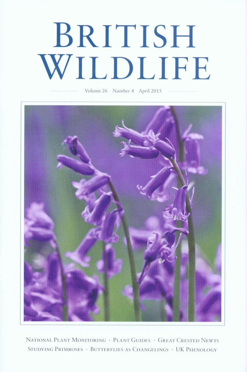 British Wildlife 26.4 April 2015