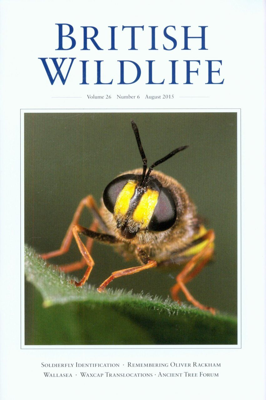British Wildlife 26.6 August 2015