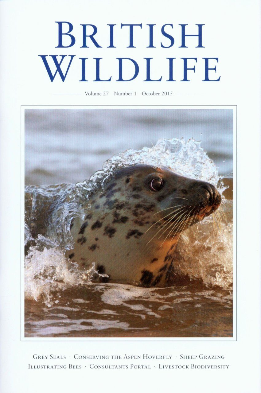 British Wildlife 27.1 October 2015