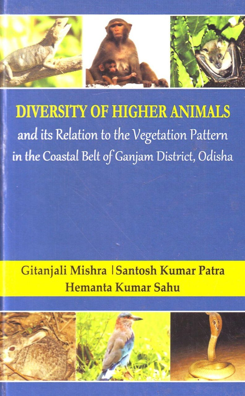 Diversity of Higher Animals and its Relation to the Vegetation Pattern in the Coastal Belt of Ganjam District, Odisha
