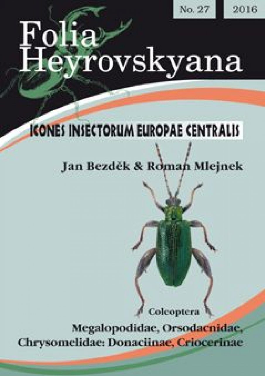 Icones Insectorum Europae Centralis: Coleoptera: Megalopodidae, Orsodacnidae, Chrysomelidae: Donaciinae, Criocerinae [English / Czech]