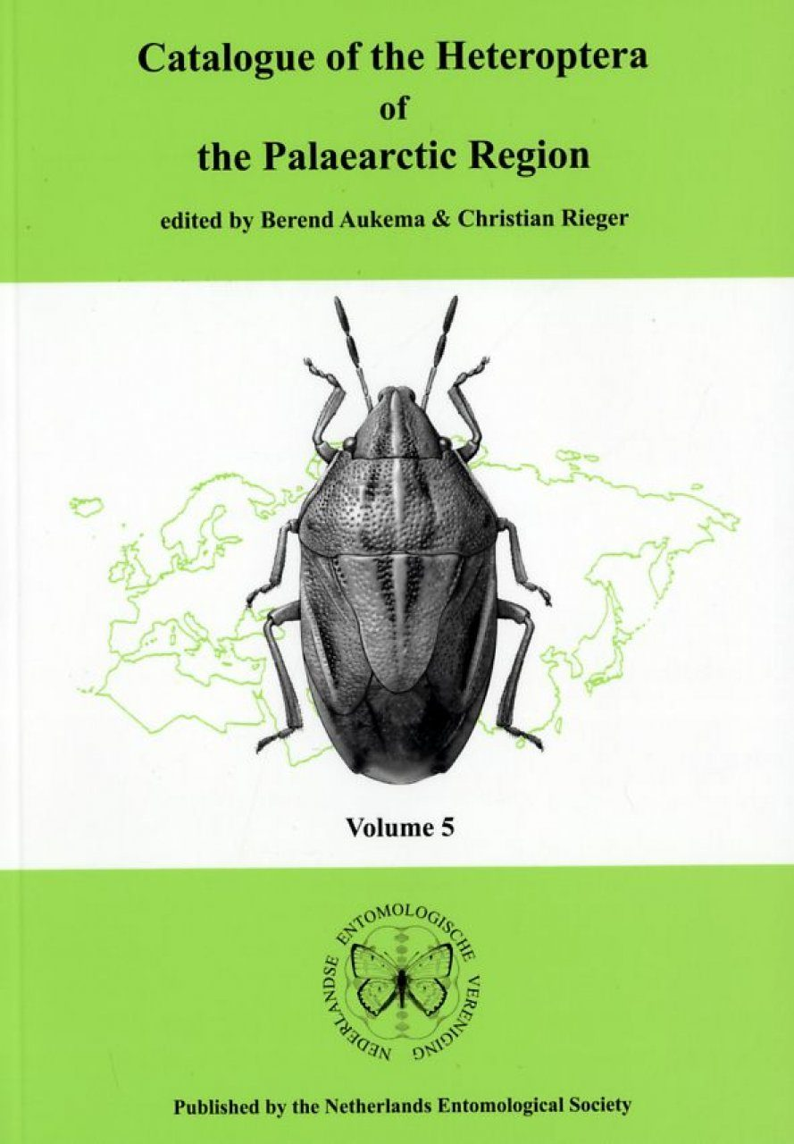 Catalogue of the Heteroptera of the Palaearctic Region, Volume 5: Pentatomomorpha II