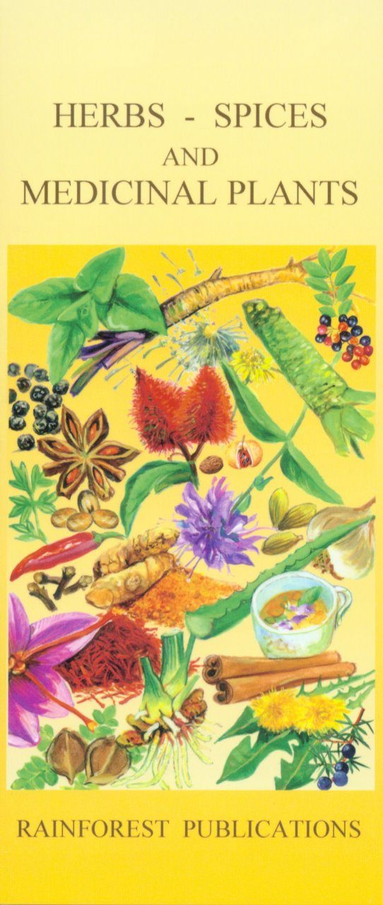 Herbs, Spices and Medicinal Plants [English / Spanish]