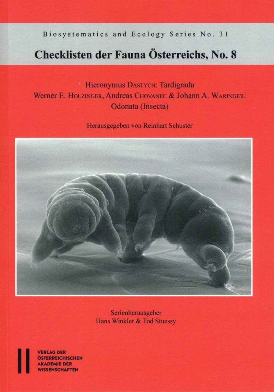 Checklisten der Fauna Österreichs, No. 8: Tardigrada, Odonata (Insecta) [Checklist of the Fauna of Austria, Volume 8]