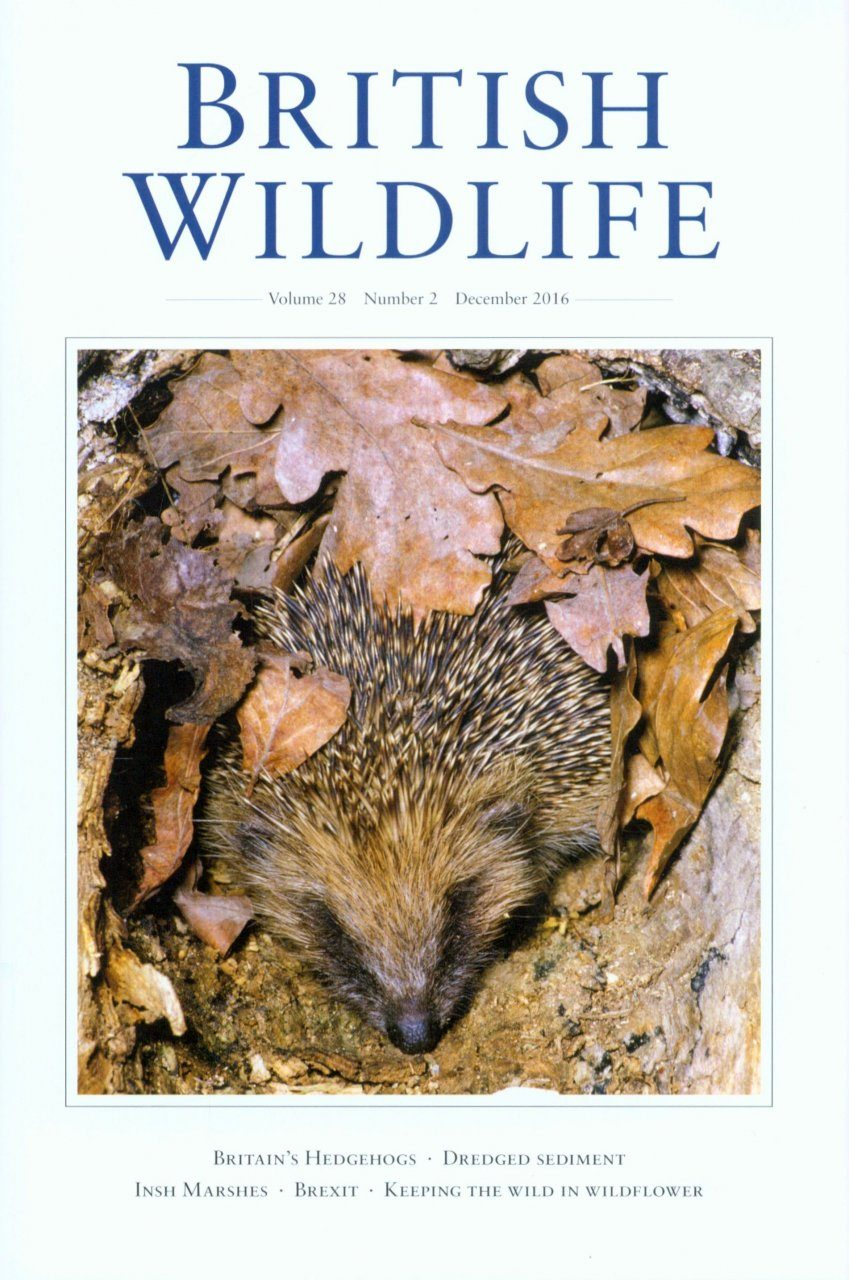 British Wildlife 28.2 December 2016