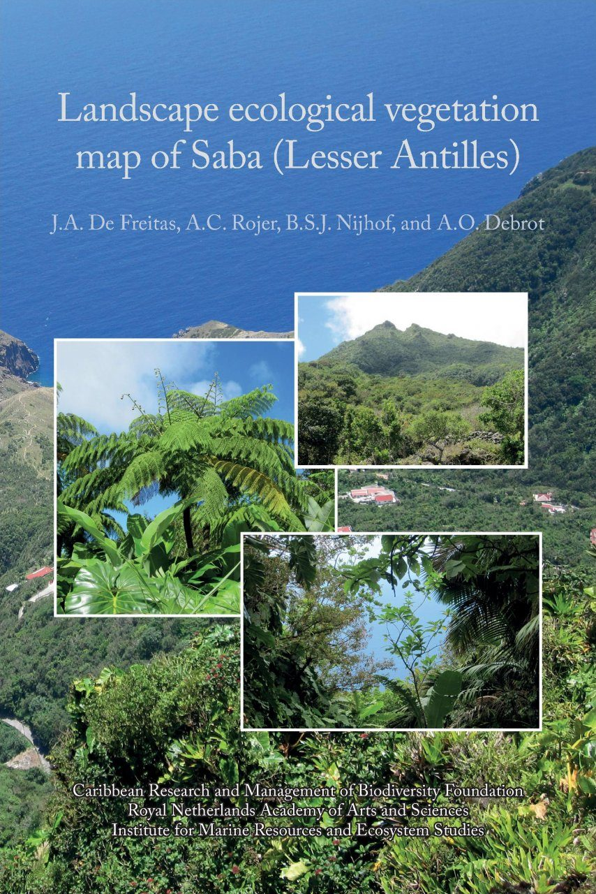 Landscape Ecological Vegetation Map of Saba (Lesser Antilles)