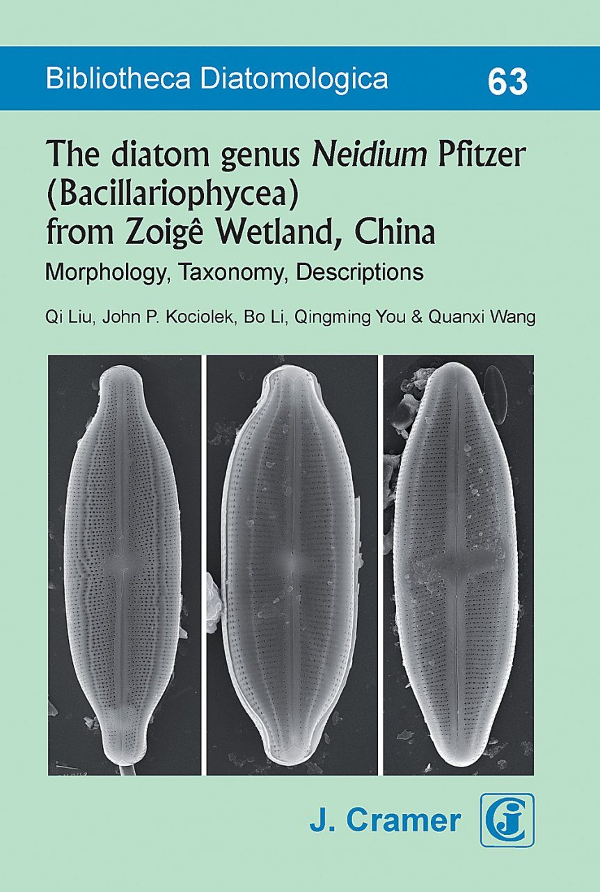 Bibliotheca Diatomologica, Volume 63: The Diatom Genus Neidium Pfitzer (Bacillariophyceae) from Zoigê Wetland, China