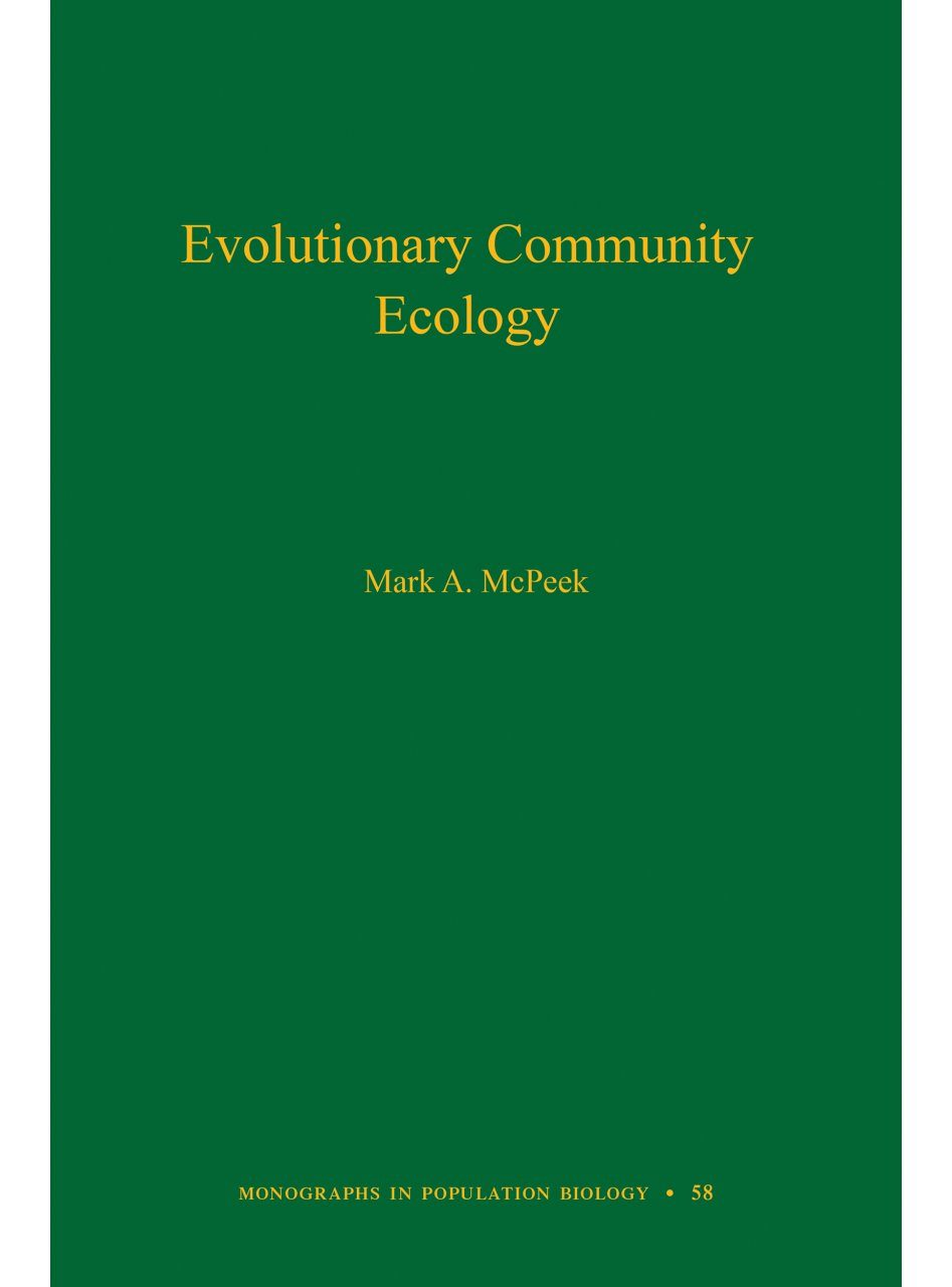 Evolutionary Community Ecology