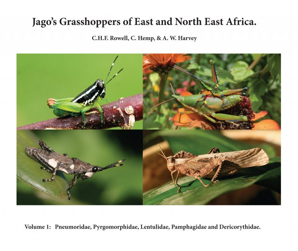 Jago's Grasshoppers of East and North East Africa, Volume 1