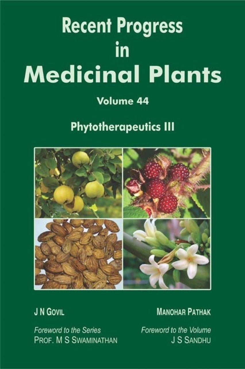 Recent Progress in Medicinal Plants, Volume 44: Phytotherapeutics III