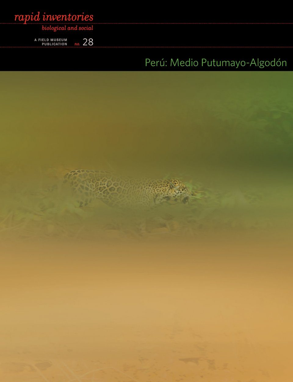 Rapid Biological and Social Inventories Report, Volume 28: Perú: Medio Putumayo-Algodón [English / Spanish]