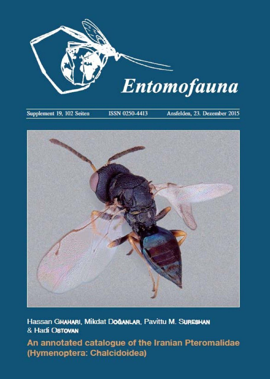 An Annotated Catalogue of the Iranian Pteromalidae (Hymenoptera: Chalcidoidea)