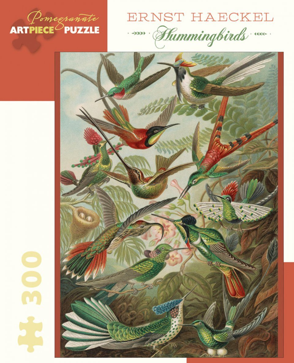 Hummingbirds 300 Piece Jigsaw Puzzle