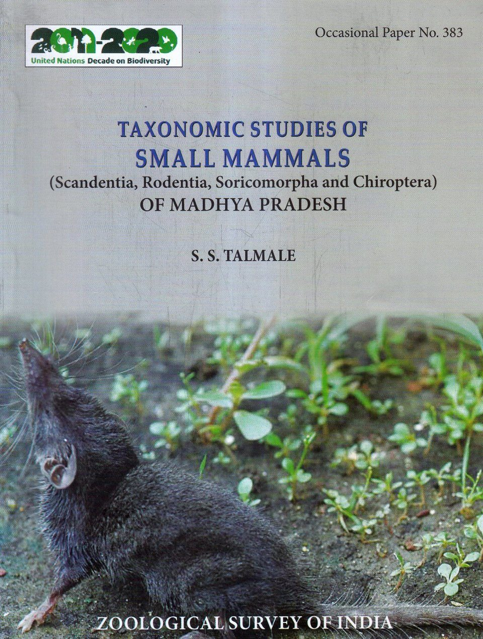 Taxonomic Studies of Small Mammals (Scandentia, Rodentia, Soricomorpha and Chiroptera) of Madhya Pradesh