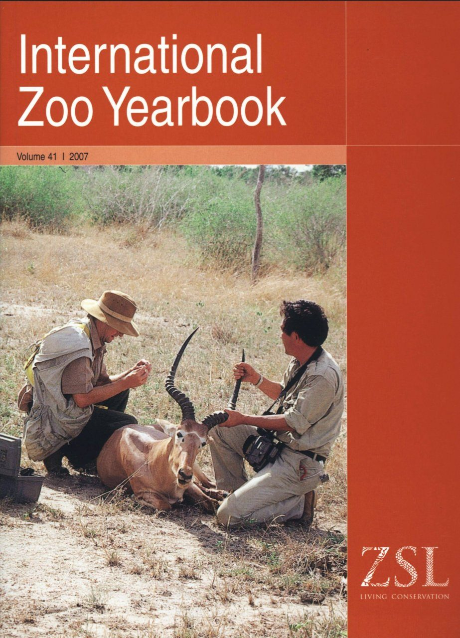 International Zoo Yearbook 41: Animal Health and Conservation