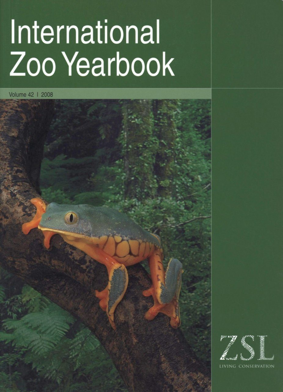 International Zoo Yearbook 42: Amphibian Conservation