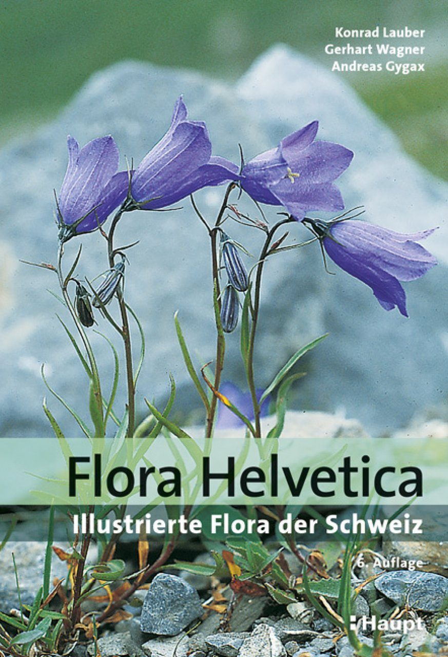 Flora Helvetica: Illustrierte Flora der Schweiz [Flora Helvetica: Illustrated Flora of Switzerland]