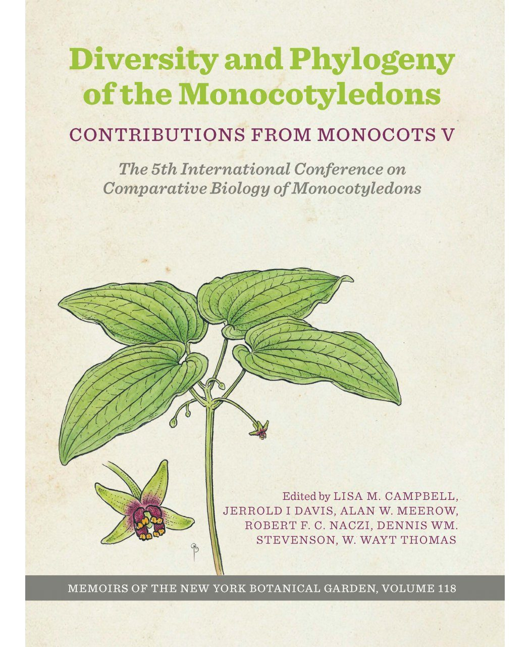 Diversity and Phylogeny of the Monocotyledons: Contributions from Monocots V