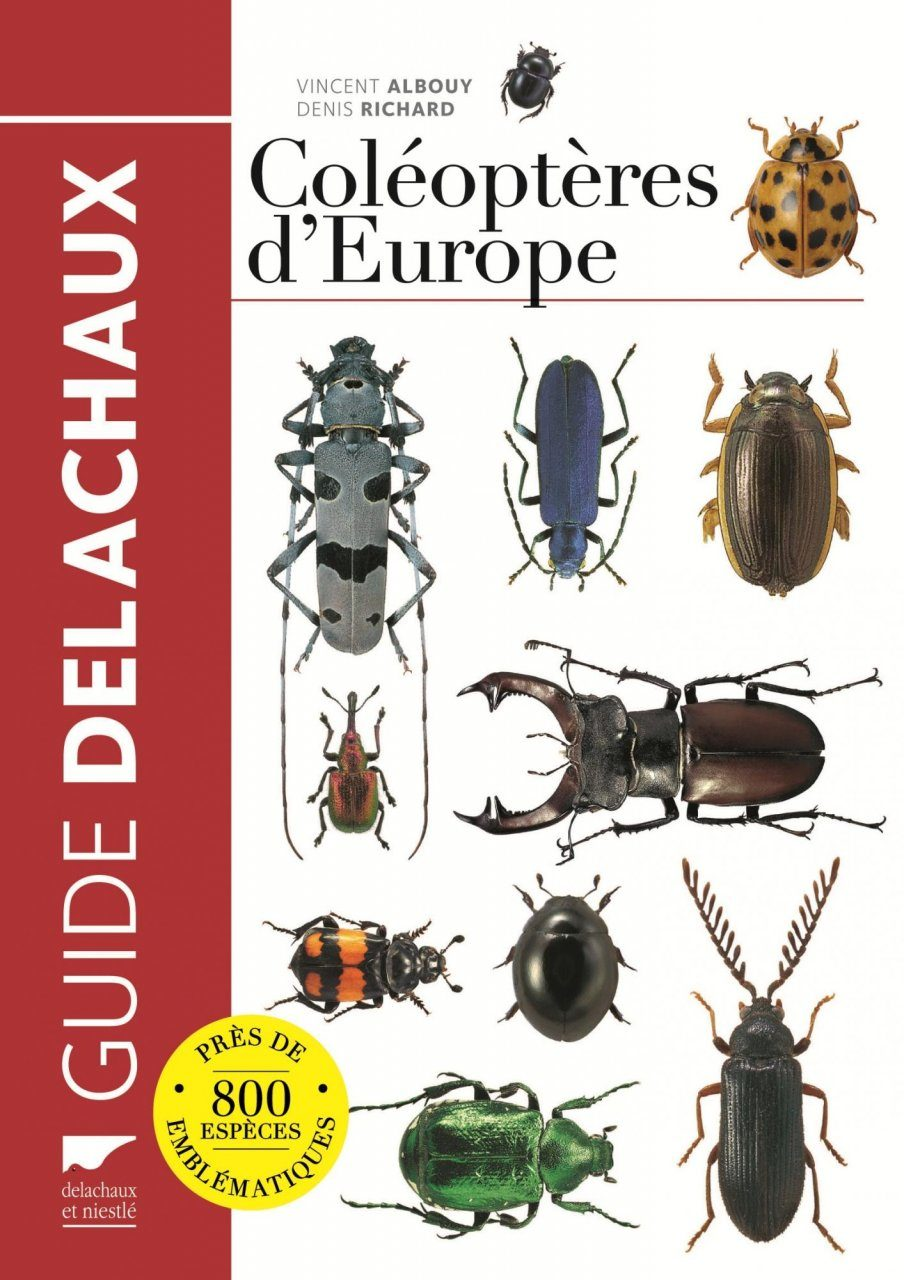 Guide des Coléoptères d'Europe [Guide to the Beetles of Europe]
