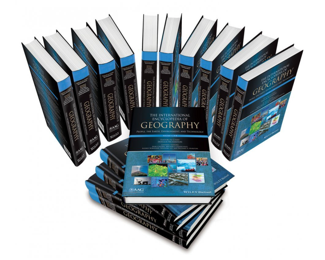 The International Encyclopedia of Geography: People, the Earth, Environment and Technology (15-Volume Set)