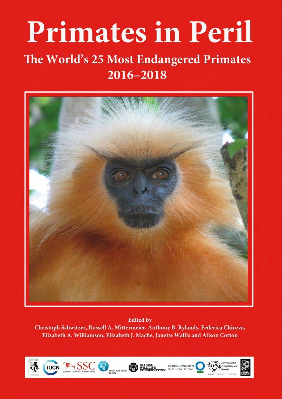 Primates in Peril: The World's 25 Most Endangered Primates 2016-2018